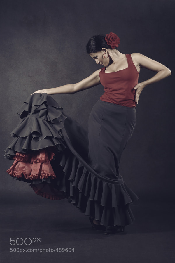 Flamenco Dancer by Natalia Baryshenkova (naba)) on 500px.com