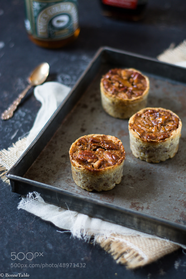 Photograph Mini pecan pies by Julie Longet on 500px