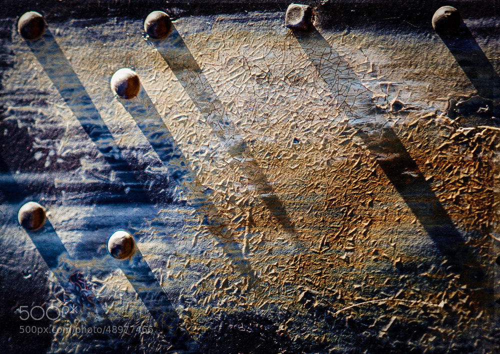 Photograph Rivets and Textures by Paul Bartell on 500px