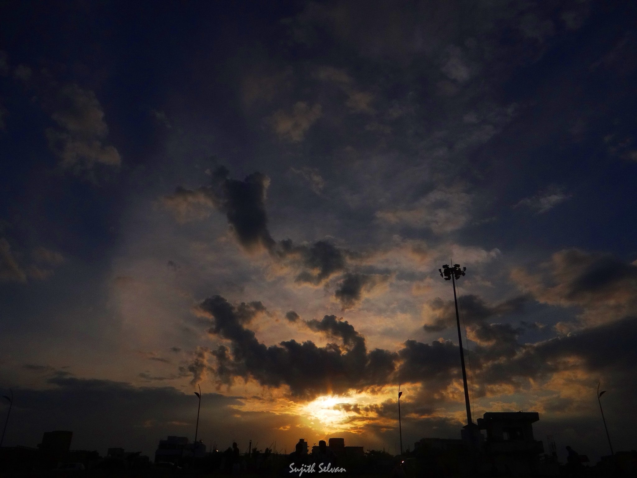 Photograph Twilight clouds.. by Sujith Selvan on 500px