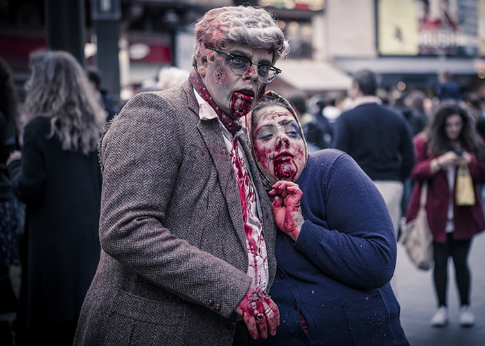 Photograph World Zombie Day London by Ian Schofield on 500px
