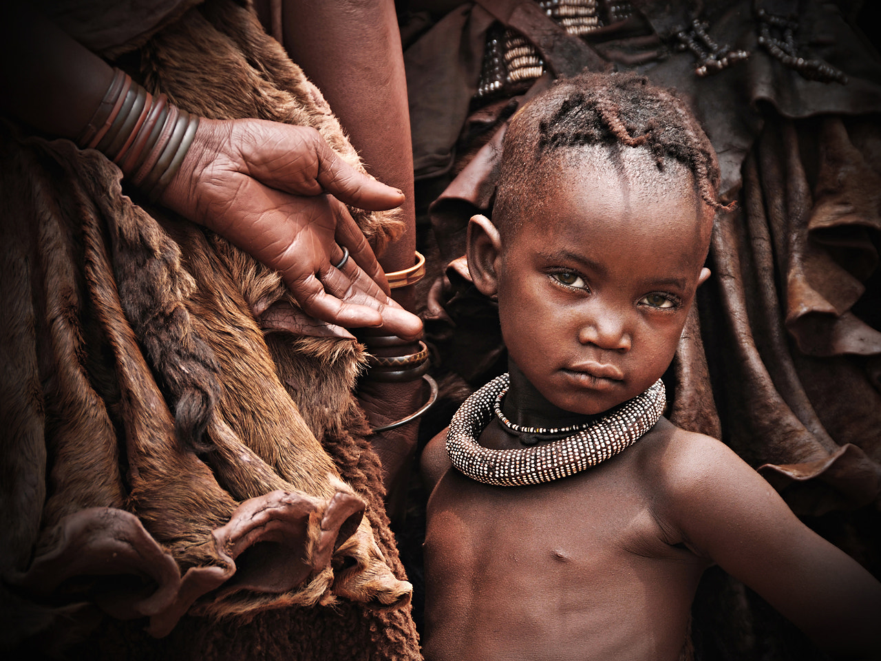 Photograph Little Himba girl by Stefan Cruysberghs on 500px