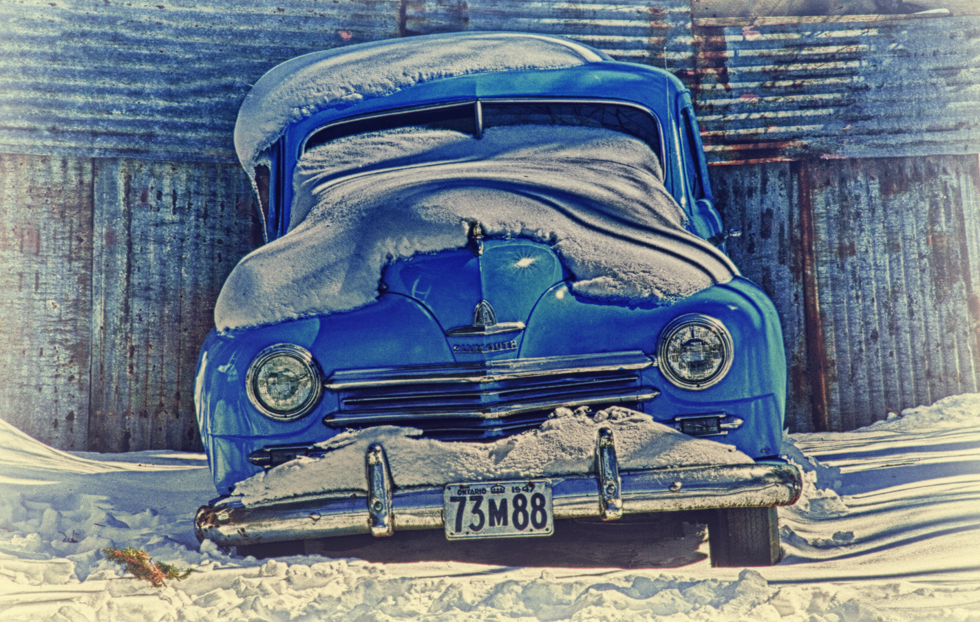 Photograph Old Blue Two by Tracey C on 500px