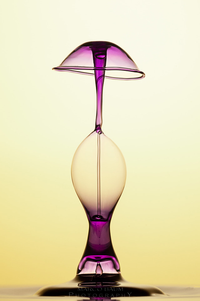 Photograph purple lamp II by Marco Baum on 500px