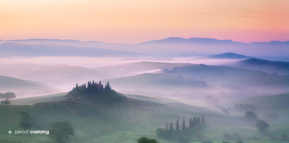Photograph Tuscan Mist by Jarrod Castaing on 500px