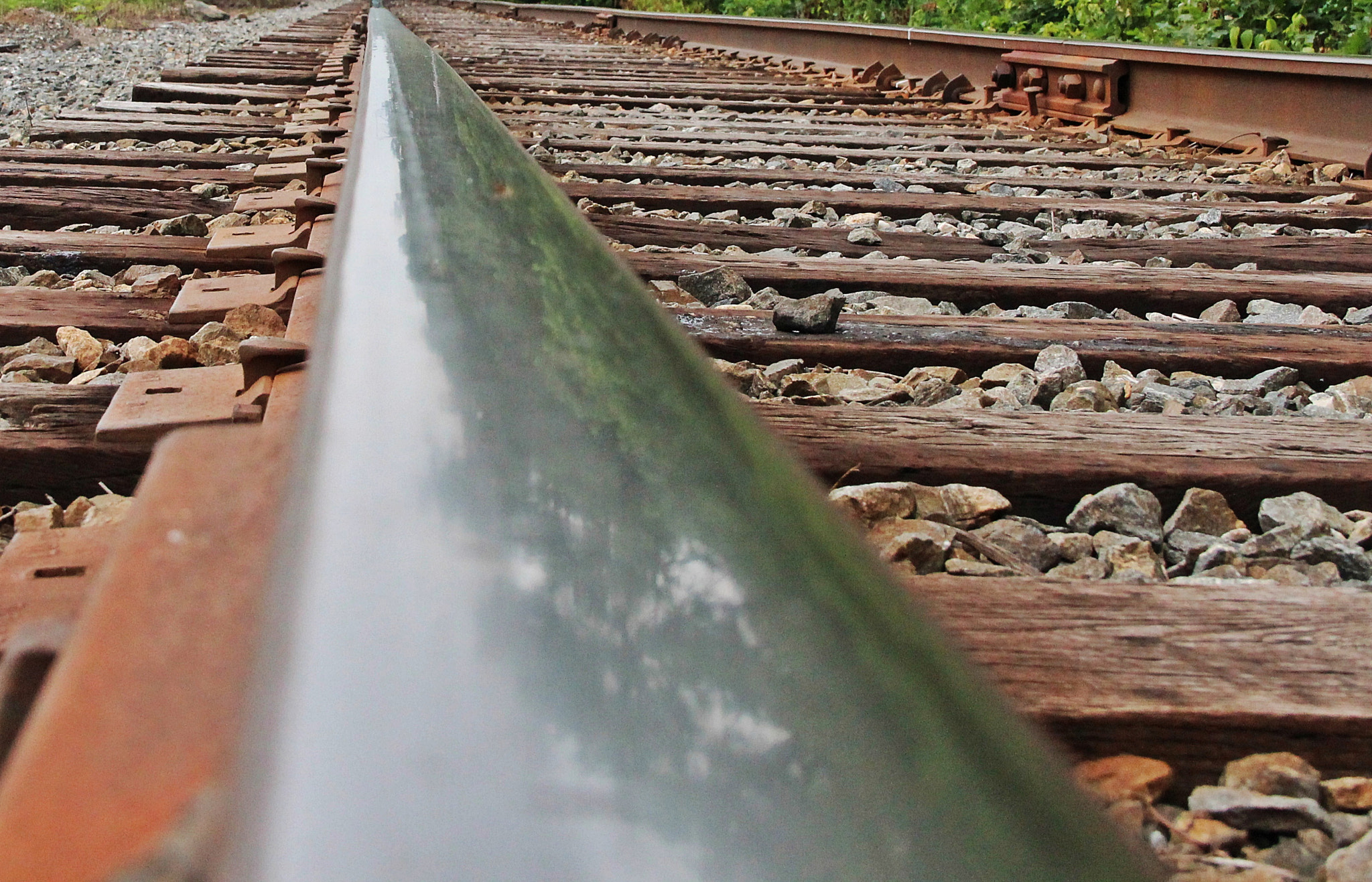 Photograph Reflections of Rails by Kip Gienau on 500px