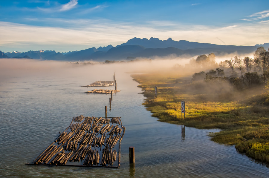 Pitt River Fog by James Wheeler on 500px.com