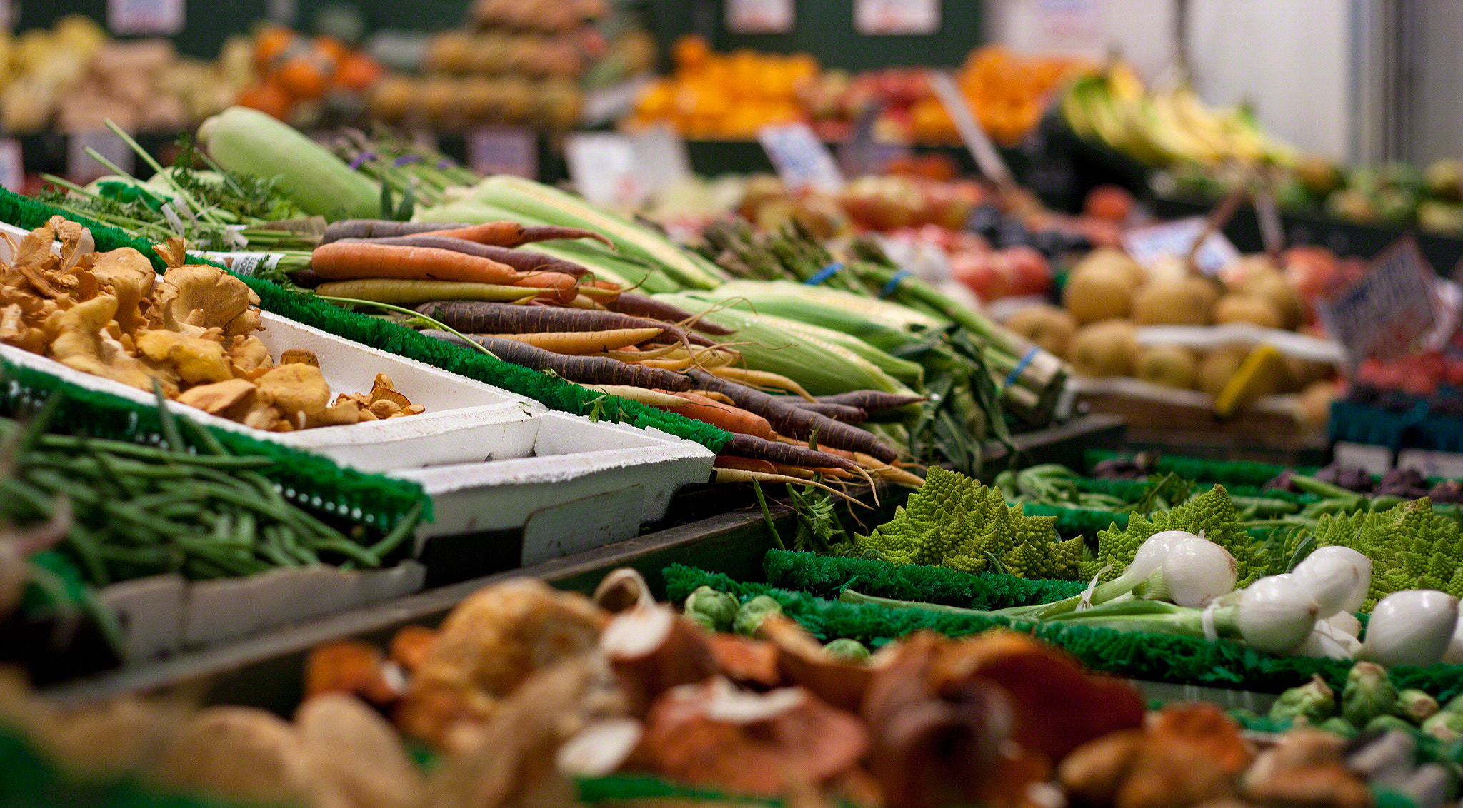 Photograph Vegetable Stand by David Gerard Burkhardt on 500px