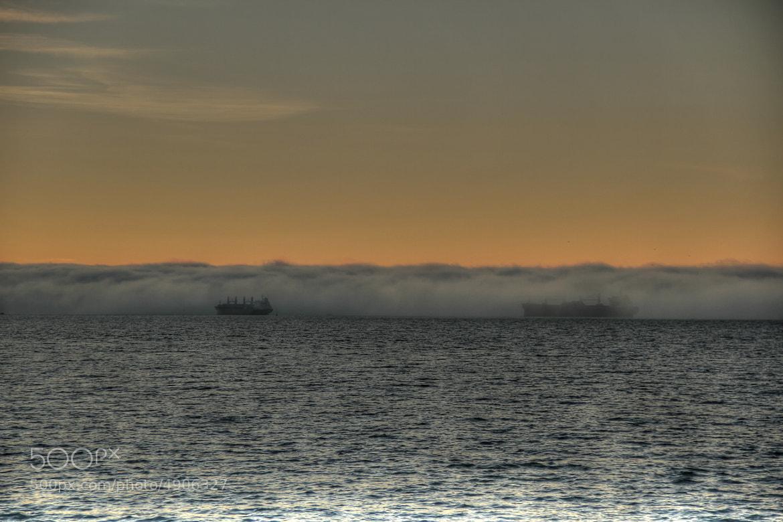 Photograph Foggy Cargo Ships by Martin Grančič on 500px
