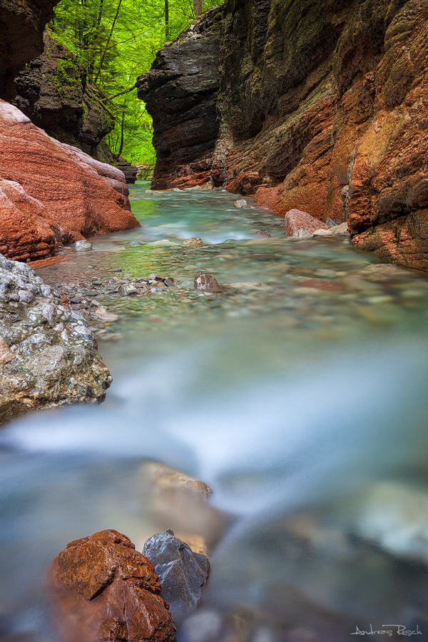 Photograph Red Gorge by Andreas Resch on 500px