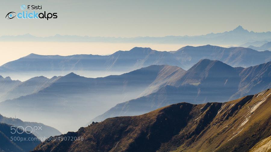 Photograph Il Piemonte (Valle Soana, Parco Nazionale Gran Paradiso, Piemonte) by Francesco Sisti on 500px