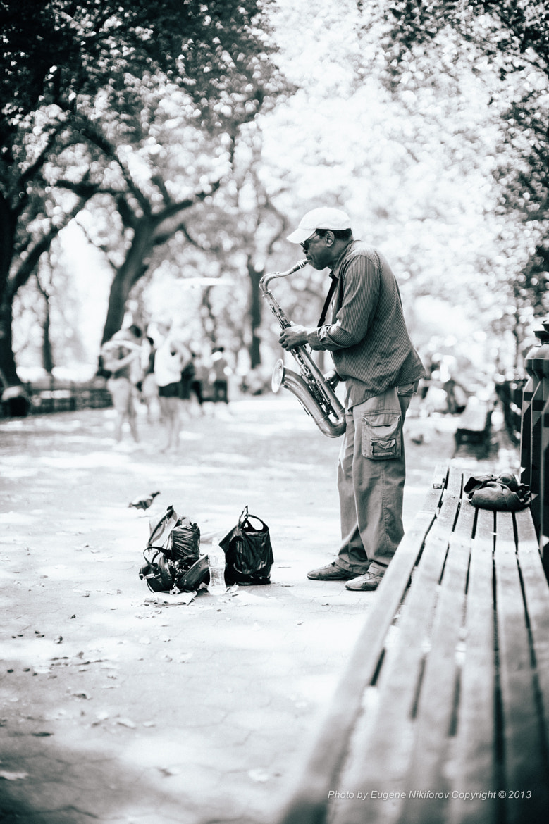 Photograph Jazz, Central Park, New York by Eugene Nikiforov on 500px