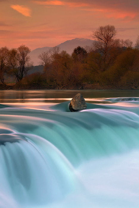 Photograph Sunset over Manavgat Fall by kani polat on 500px
