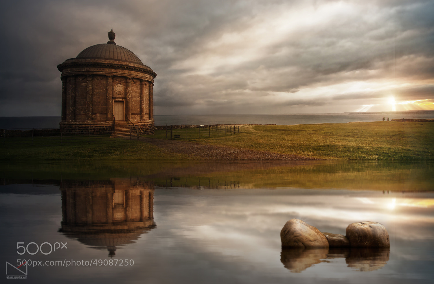 Photograph Morning At Mussenden II by Noam Mymon on 500px
