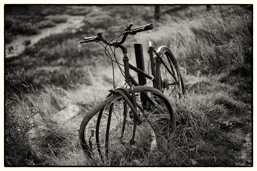 Old Bike, Southwold Harbour