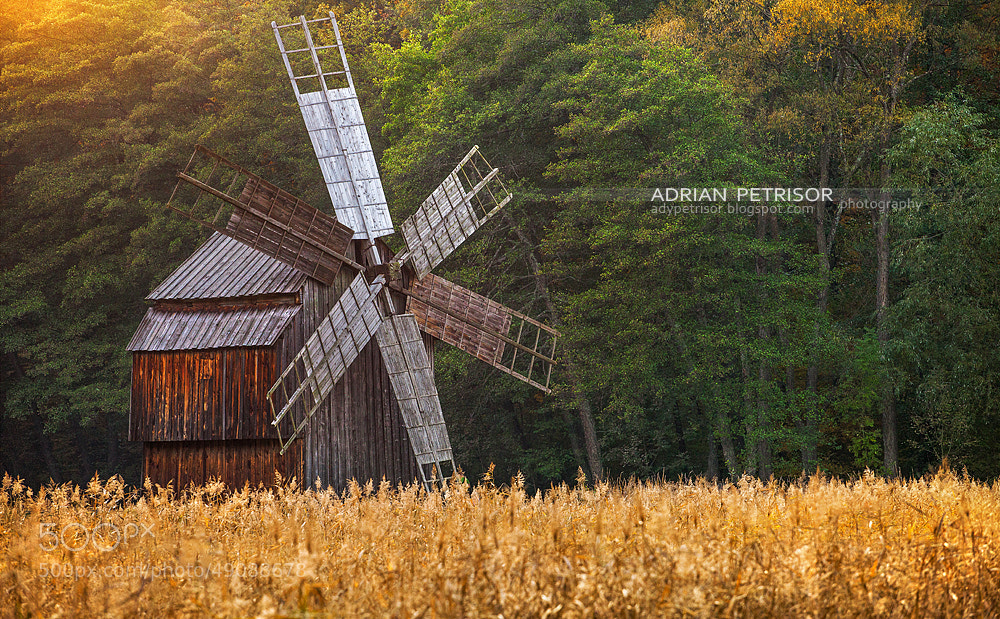 Photograph Windmill by Adrian Petrisor on 500px