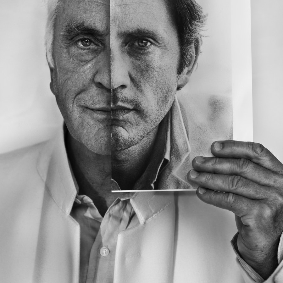 Actor Terence Stamp...