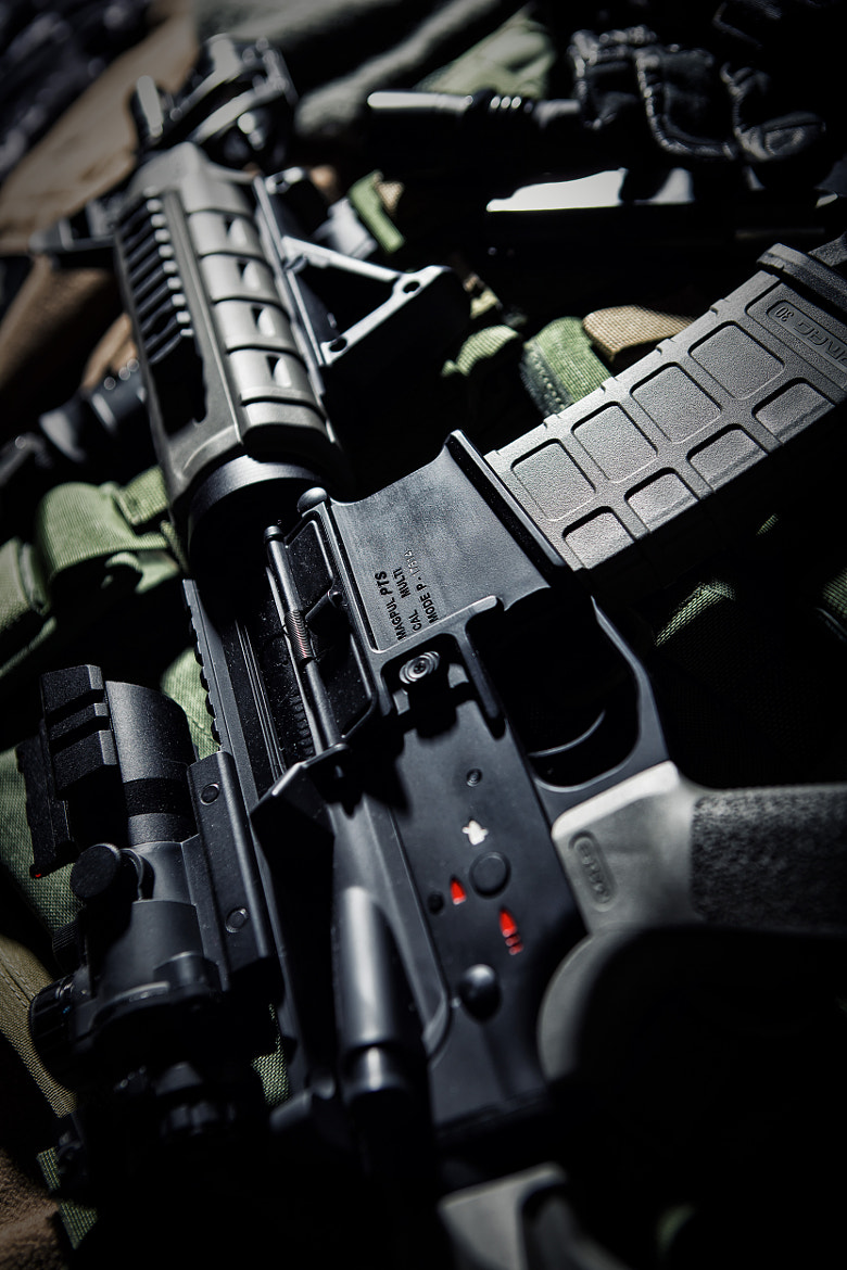 Photograph M4 MOE Magpul Carbine by Andrey Philippov on 500px
