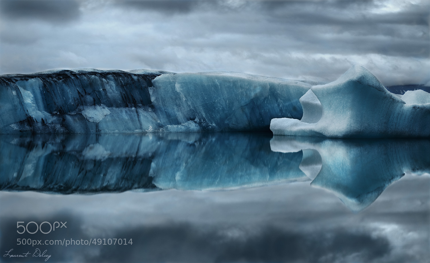 Photograph Dark Ice by Laurent DELCEY on 500px