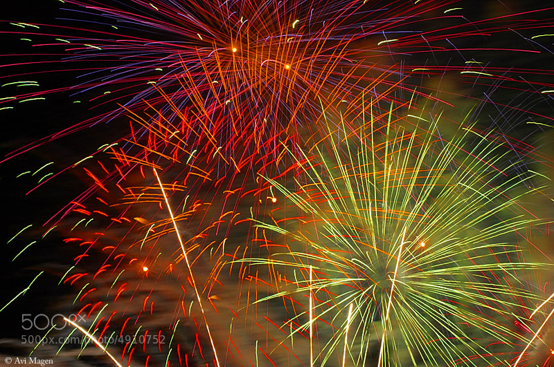 Photograph Fireworks by Avi Magen on 500px