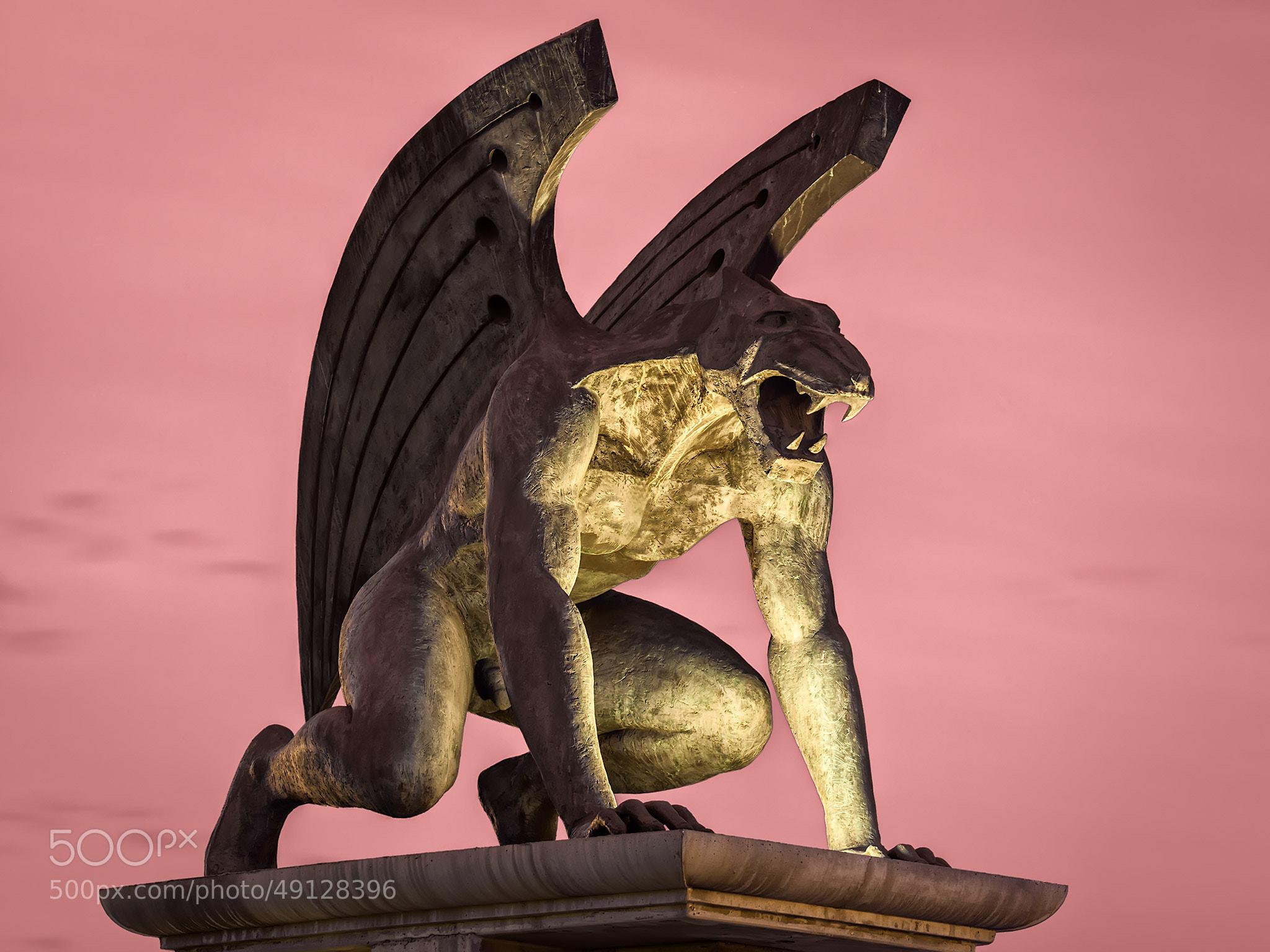 Photograph Gárgola (Mitología) by Luis Martin Marino on 500px