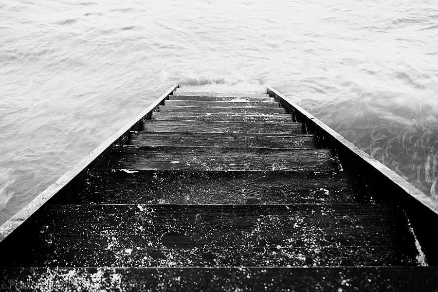 Stairway to the ocean.