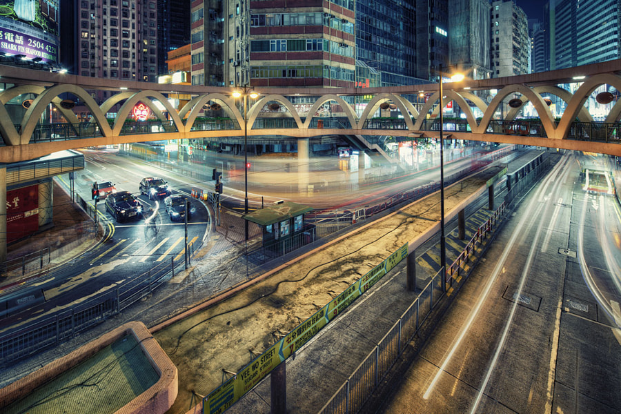 Photograph Busy City by William Lau on 500px