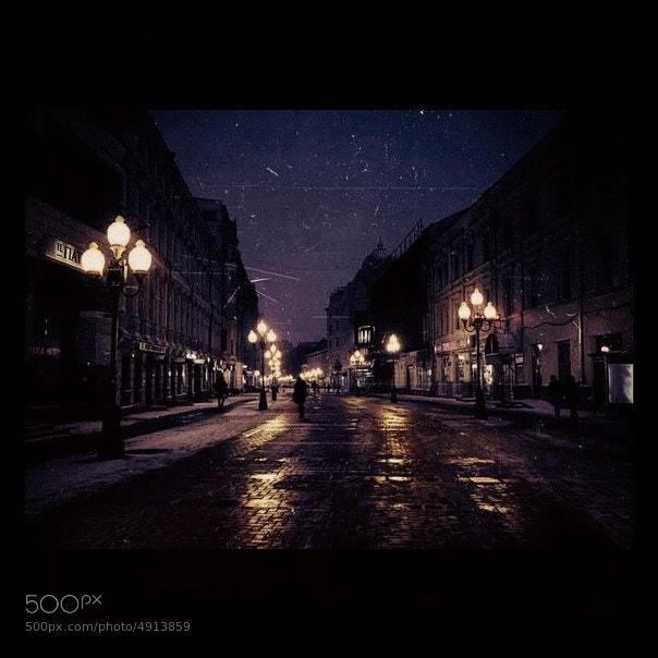 Photograph Arbat Street by Evelina Gumileva on 500px