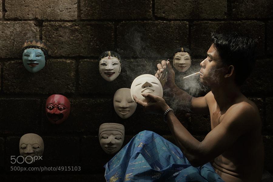 mask maker by asit  on 500px.com