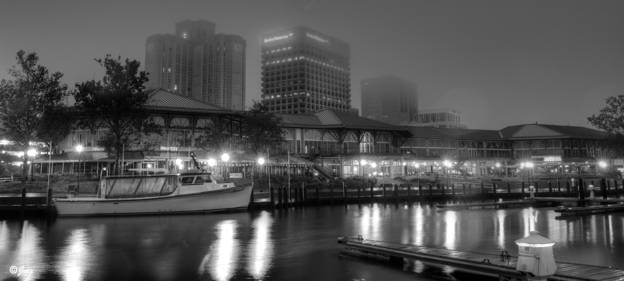 Photograph Downtown Norfolk in the Rain 4 by James Gramm on 500px