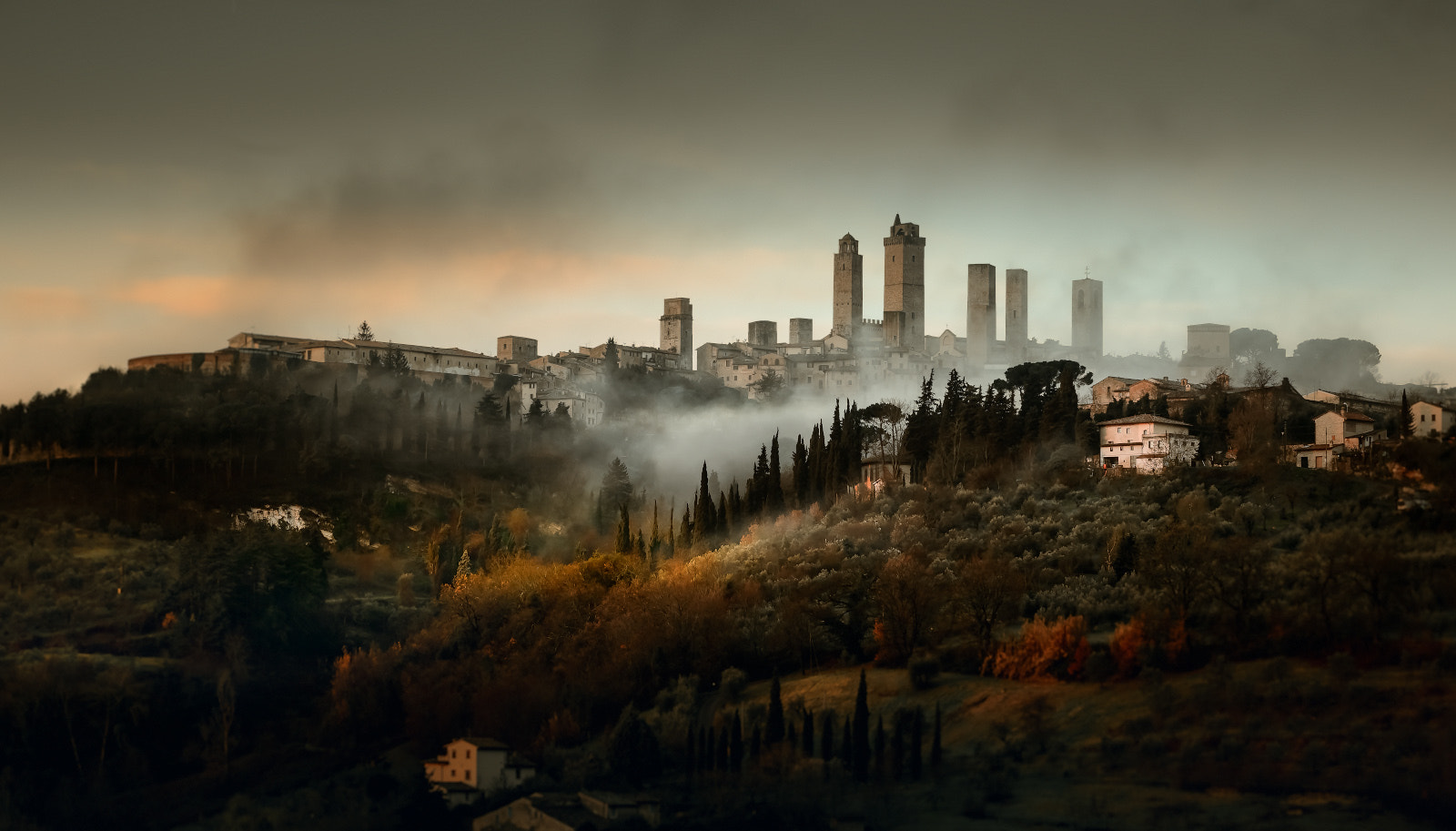 Photograph San Gimignano view by Alexander Gutkin on 500px