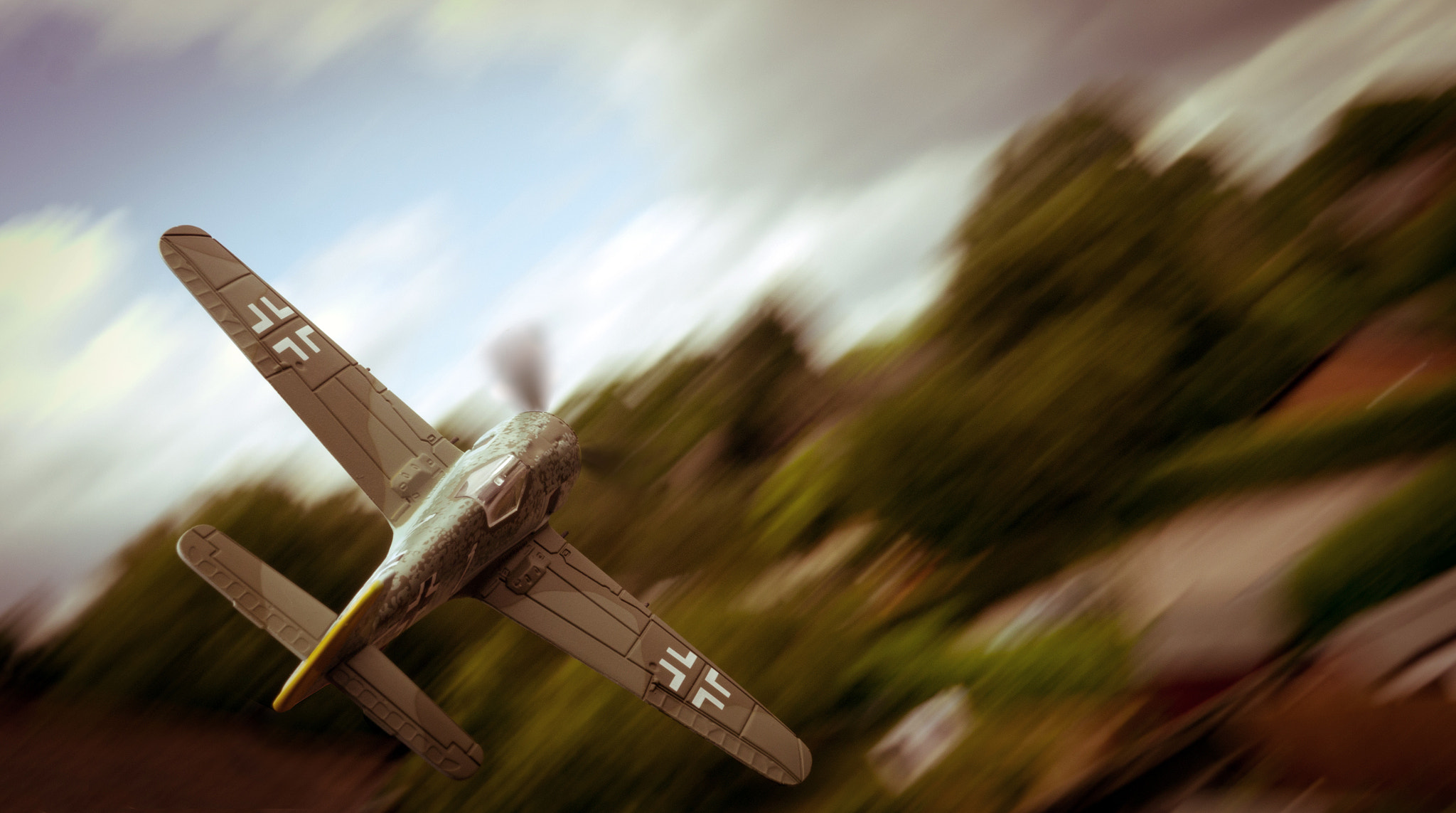 Photograph A Flying Focke by Adonis Stevenson on 500px