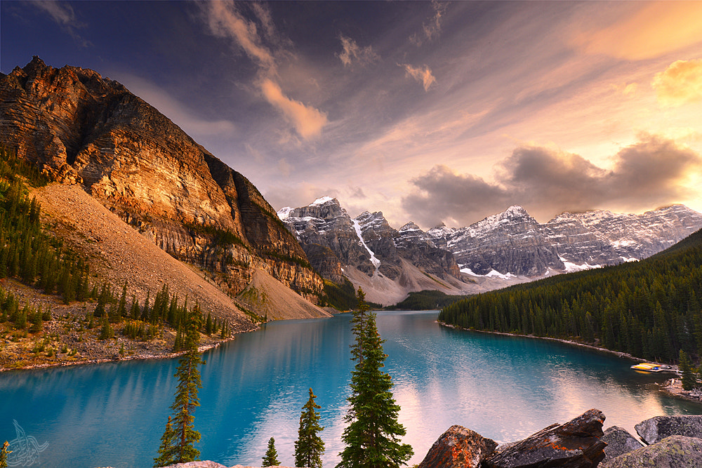Photograph moraine lake by Ibraheem Alnassar on 500px