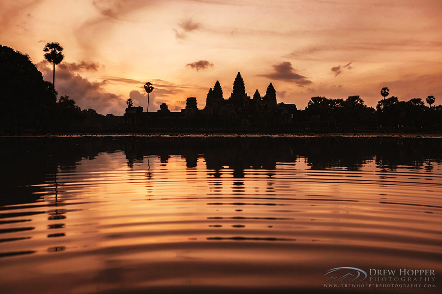 Photograph Golden Angkor by Drew Hopper on 500px