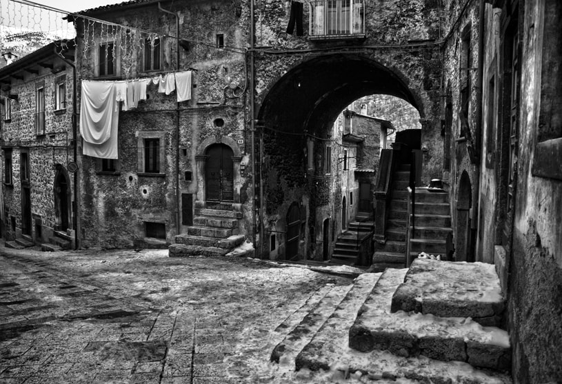 Photograph Old Hamlet of Scanno by mario pignotti on 500px