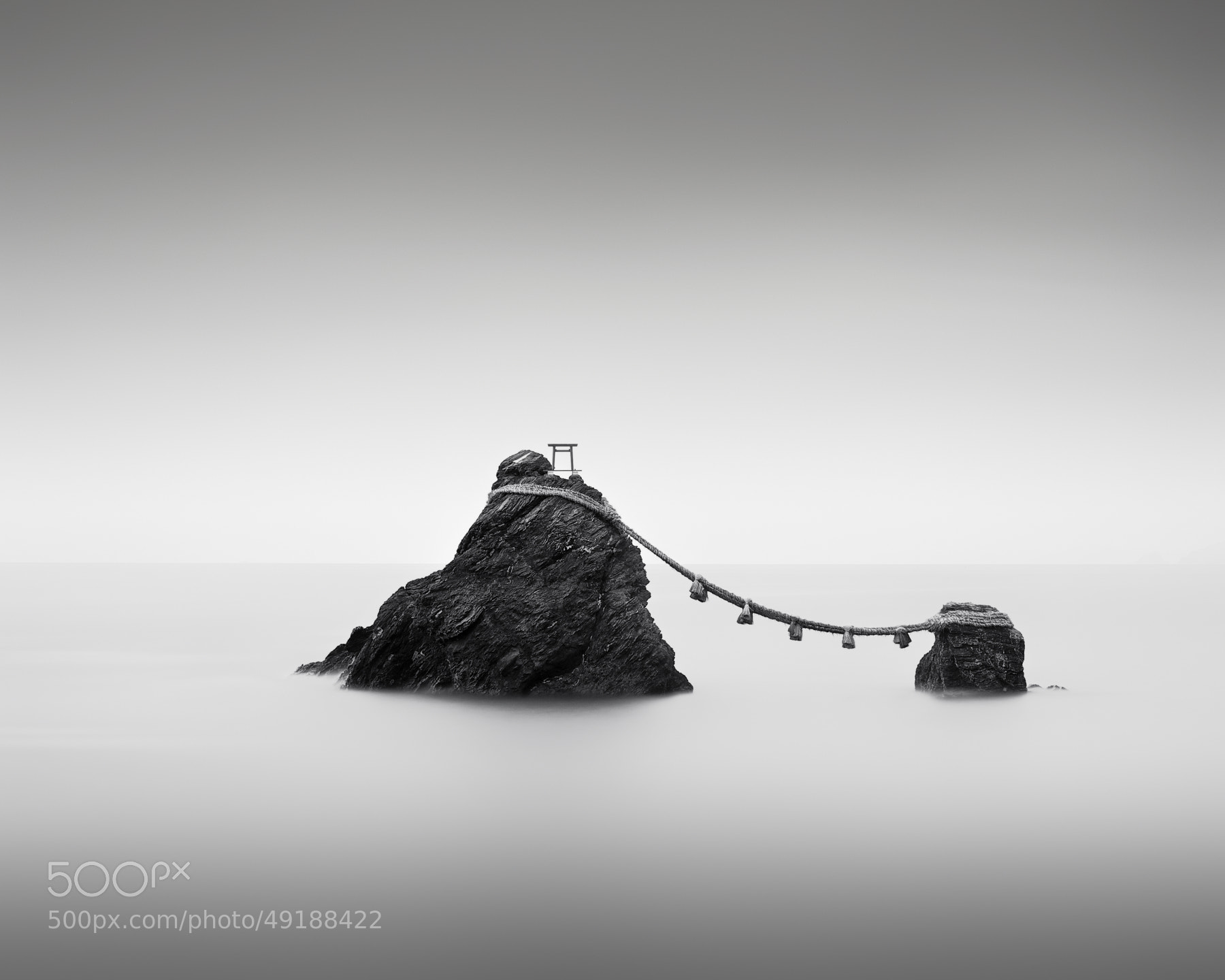 Photograph Meoto Iwa by Stephen Cairns on 500px