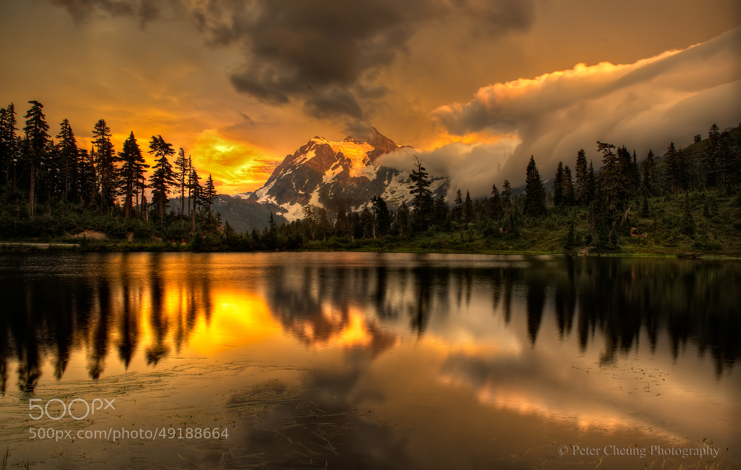 Photograph Golden Sunset by Peter Cheung on 500px