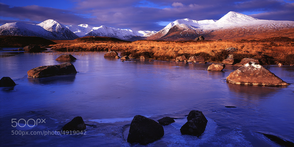 Photograph River Ba, Scottish Highlands by Edward Fury on 500px