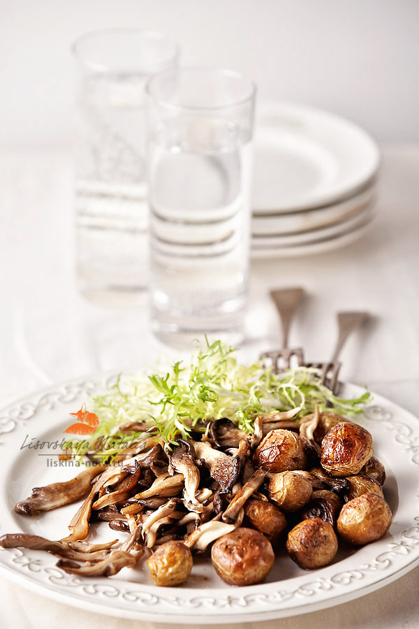 Photograph Potatoes with Mushrooms by Natalia Lisovskaya on 500px