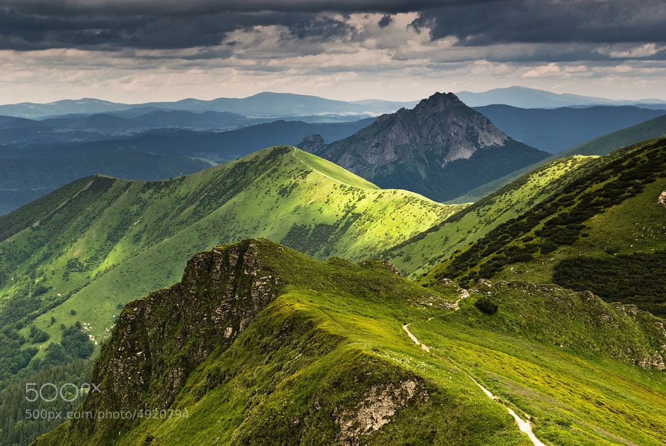 Photograph Mala Fatra by Jakub Polomski on 500px