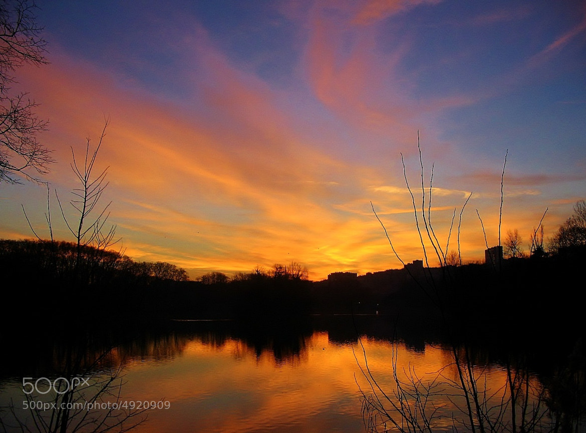 Photograph Sunset on Lyon by Marie BALLEFIN on 500px