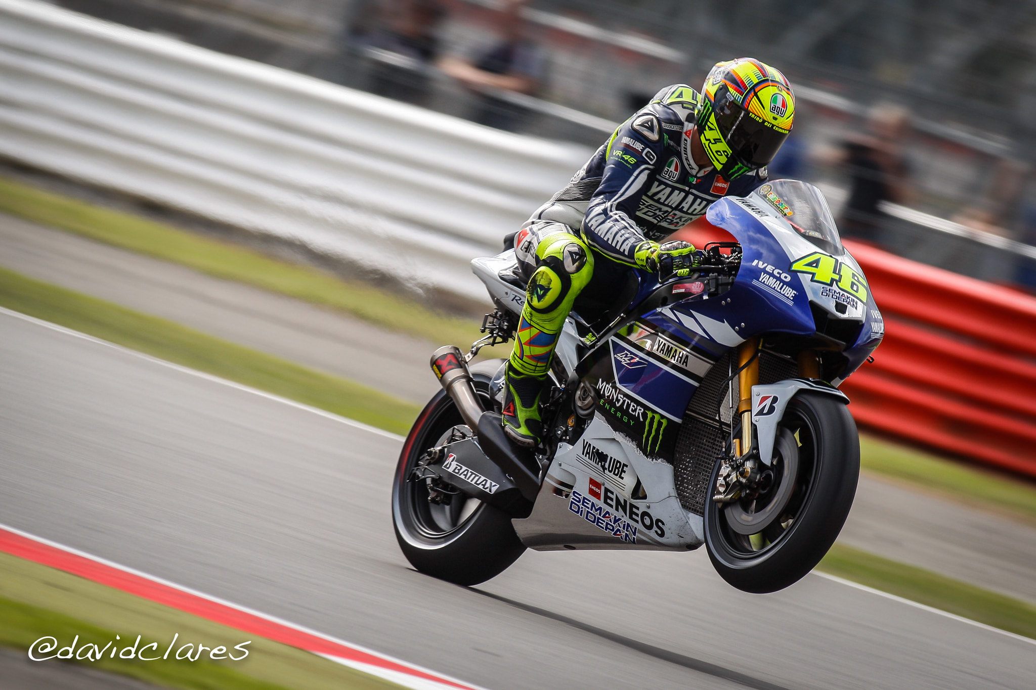 Photograph Valentino Rossi REF. 0221 by David Clares on 500px