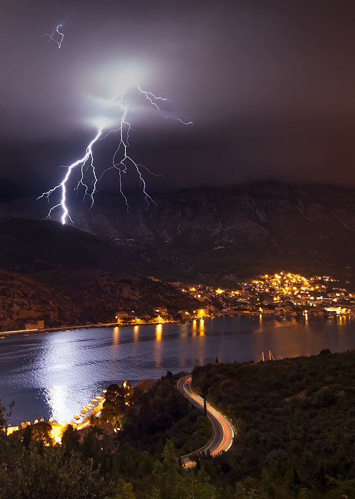 Photograph Electrical storm by Boris Basic on 500px