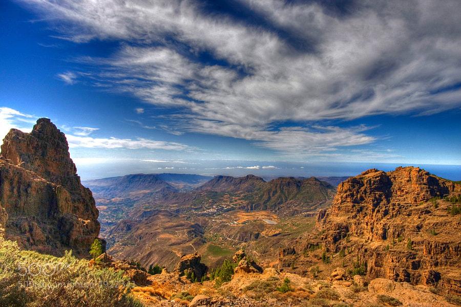 La caldera de Tirajana.Gran Canaria by El Coleccionista de Instantes Rodriguez (El-Coleccionista-de-Instantes-2012)) on 500px.com