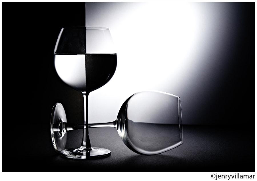 Glass B&W by jenrygraphy on 500px.com