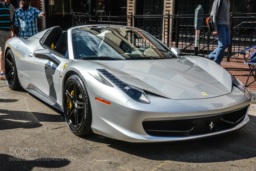 Photograph Ferrari by Mark Fagan on 500px