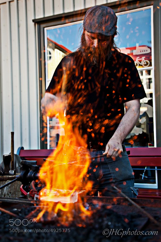Photograph Blacksmith by Jon Gretarsson on 500px