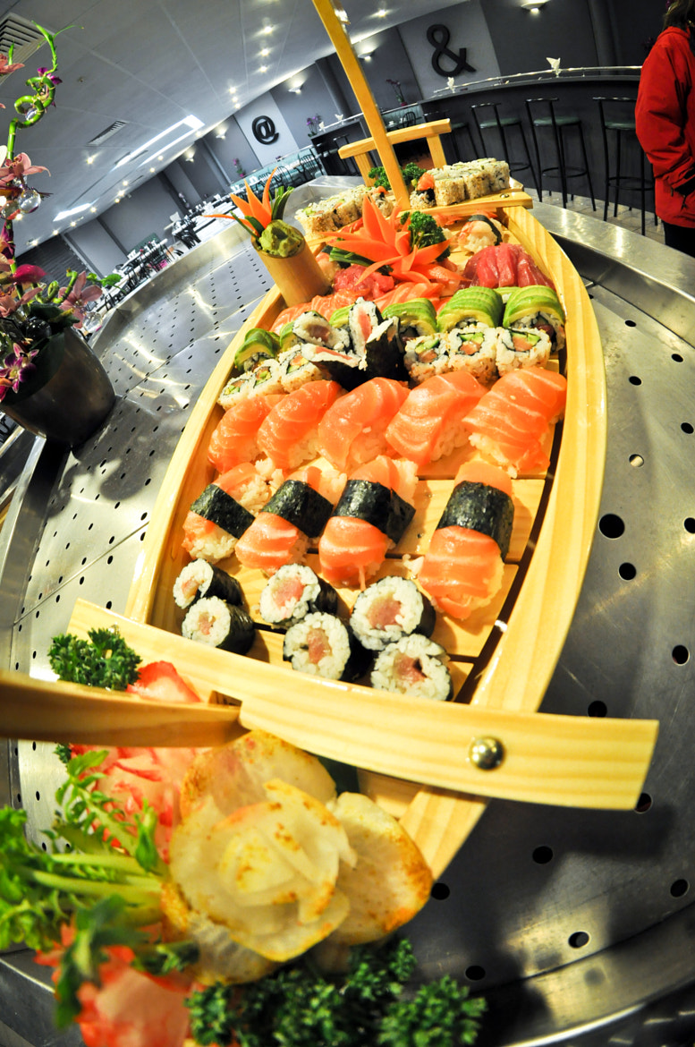Photograph Sushi Boat by Cheng LAW on 500px