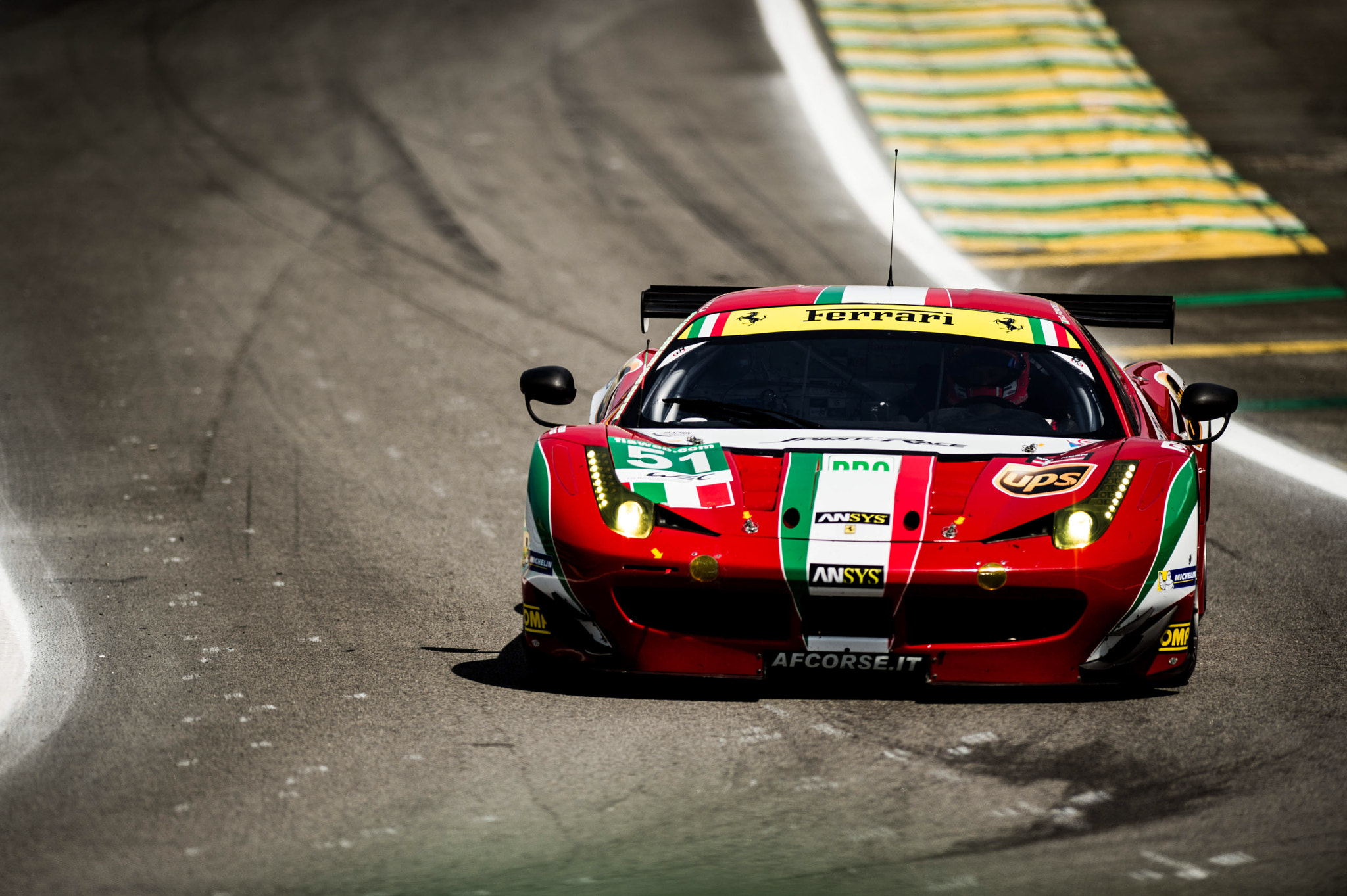 Photograph LeMans 6h of São Paulo - Ferrari 458 by Victor Eleutério on 500px