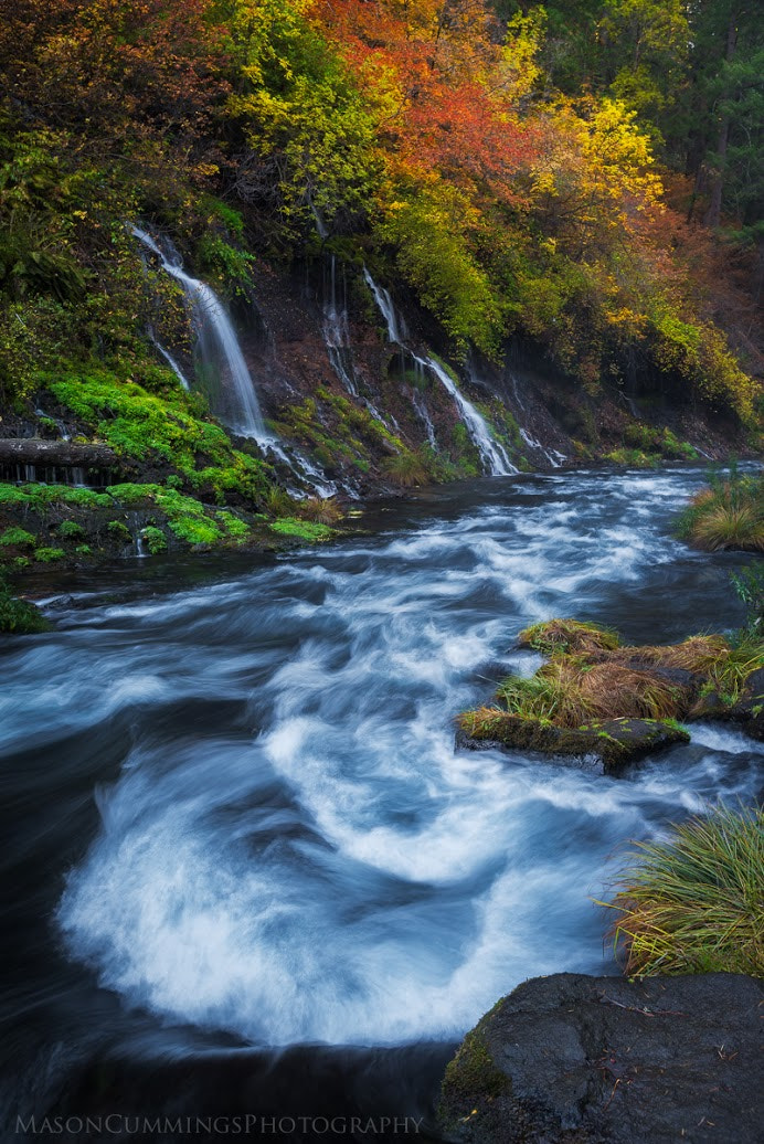 Photograph Burney Flow by Mason Cummings on 500px